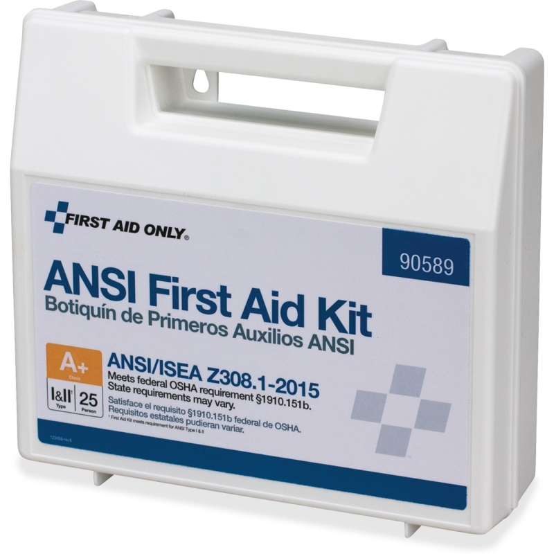 First Aid Only 141-piece ANSI First Aid Kit 90589 FAO90589