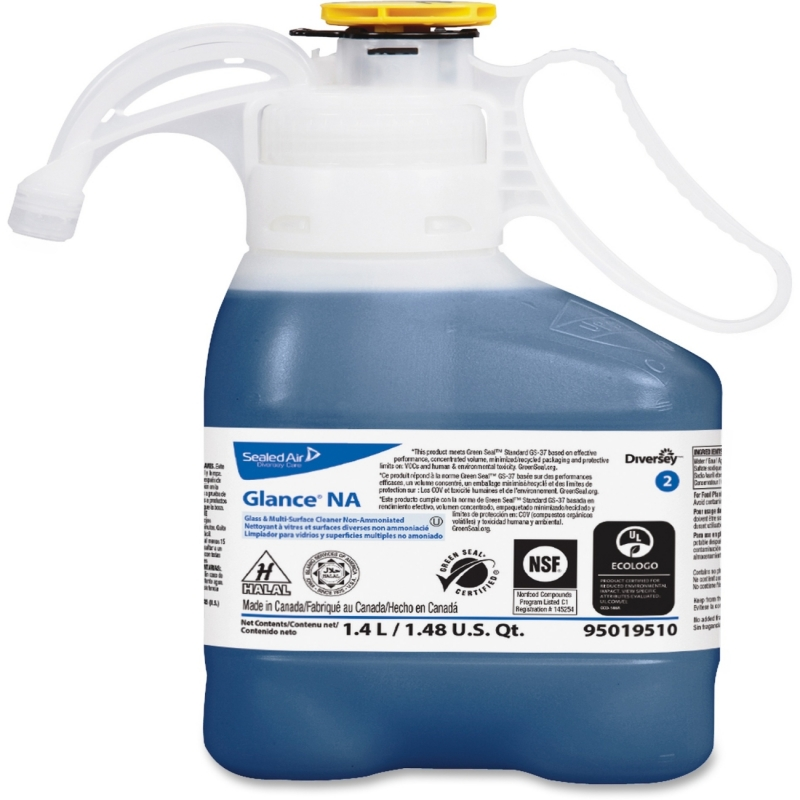 Diversey Smart Dose Glance NA Glass Cleaner 95019510 DVO95019510