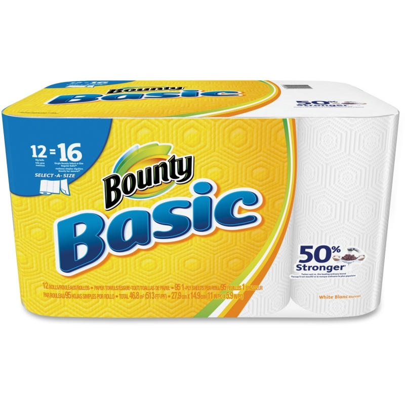 Bounty Basic Paper Towels 92970 PGC92970