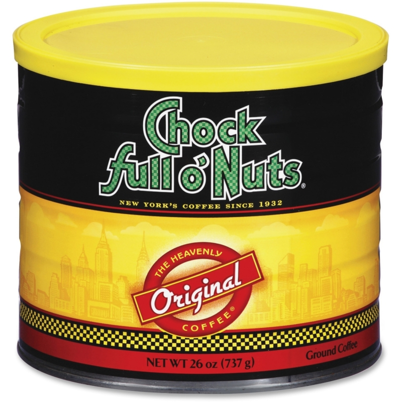 Office Snax Chock Full O'Nuts Original Coffee 10044 OFX10044