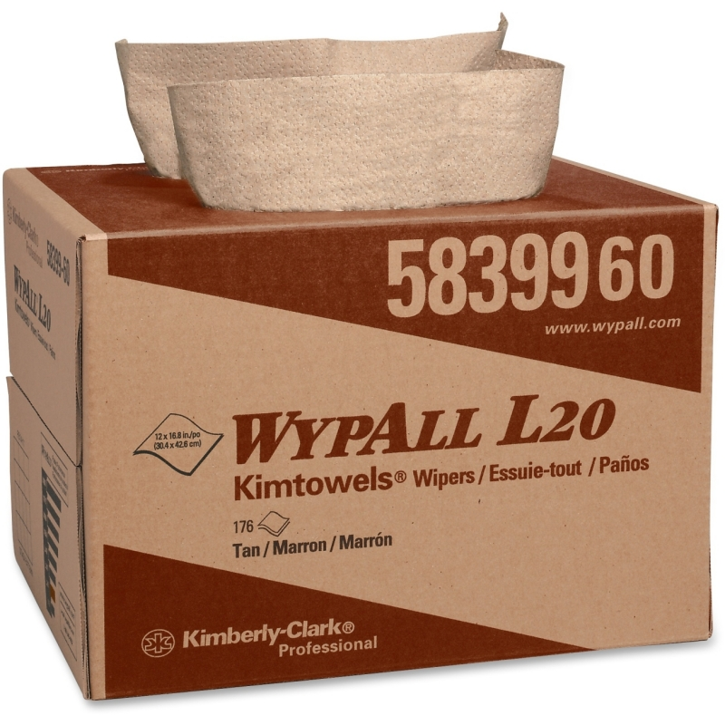 Wypall L20 Wipers Brag Box 58399 KCC58399