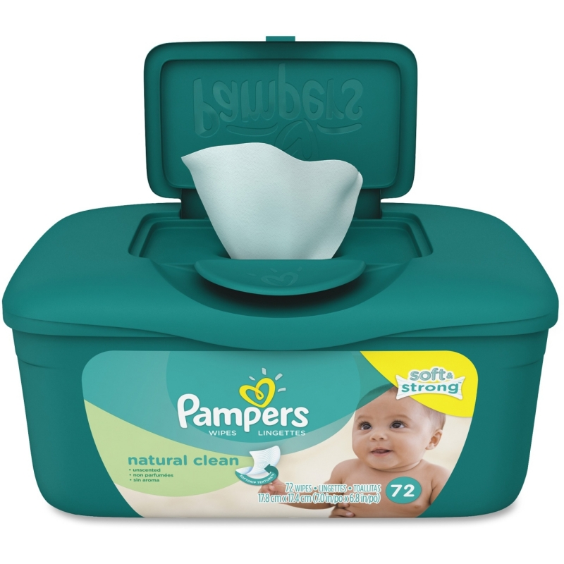Pampers Natural Clean Wipes Tub 28252 PGC28252