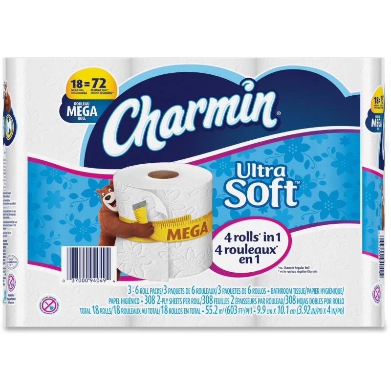 Charmin Ultra Soft Bathroom Tissue 94049 PGC94049