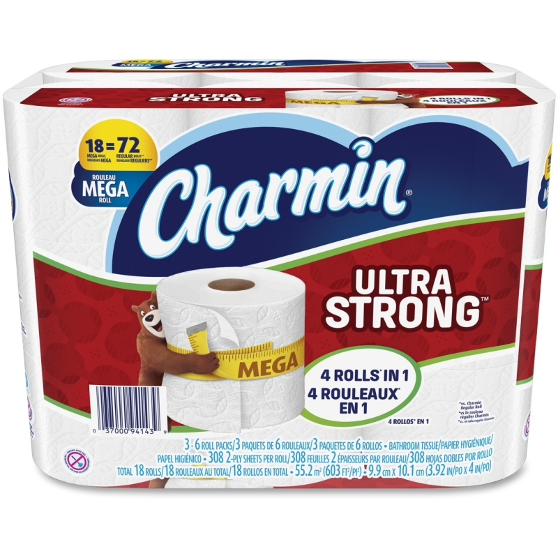 Charmin Ultra Strong Bath Tissue 94143 PGC94143