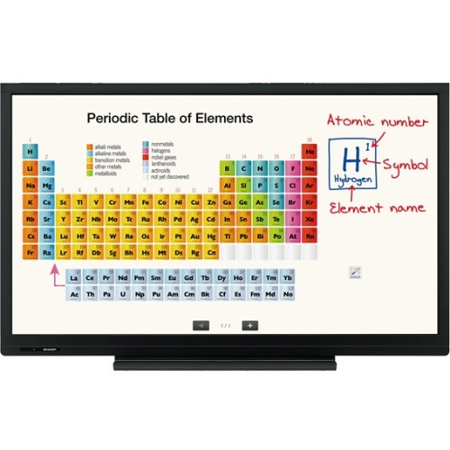 Sharp AQUOS BOARD Interactive Display System PNC703B PN-C703B