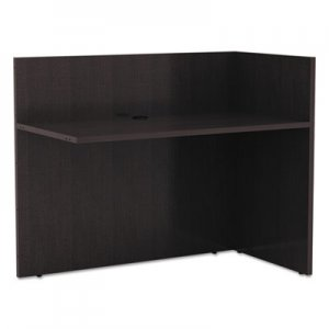 Alera Valencia Reversible Reception Return, 44w x 23 5/8d x 41 1/2h, Espresso ALEVA324424ES