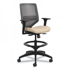 Alera Interval Swivel Tilt Task Chair 100 Acrylic Black