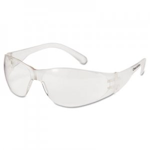 MCR Safety Checklite Safety Glasses, Clear Frame, Clear Lens CRWCL010BX CWS CL010
