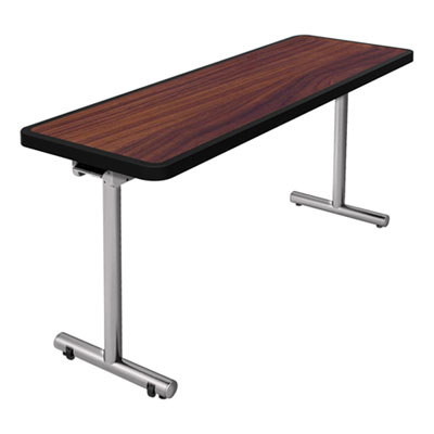 Nomad by Palmer Hamilton aero Mobile Folding Table, 60 x 24 x 29, Walnut PHLAR2460W AR2460W