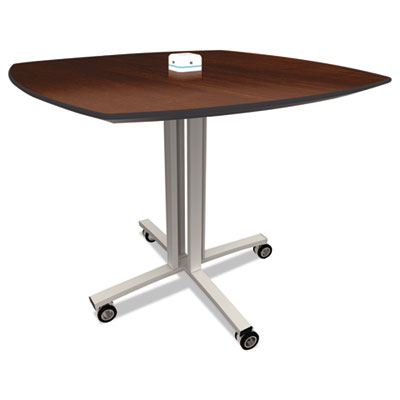 Nomad by Palmer Hamilton Reload Mobile Charging Table, 36 x 36 x 29, Walnut PHLRL2936W RL2936W