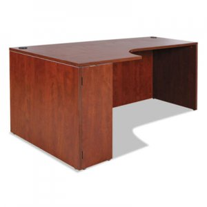 Alera Valencia Left Corner Credenza Shell, 72w x 36d x 29 1/2h, Medium Cherry ALEVA25L7236MC