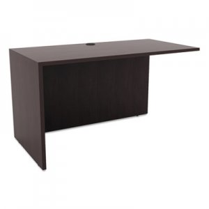 Alera Valencia Series Reversible Return/Bridge Shell,47 1/4w x 23 5/8d, Espresso ALEVA354824ES