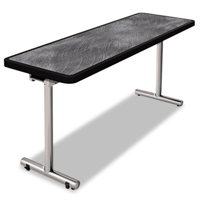 Nomad by Palmer Hamilton aero Mobile Folding Table, 72 x 24 x 29, Pewter PHLAR2472PW AR2472PW