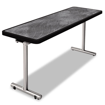 Nomad by Palmer Hamilton aero Mobile Folding Table, 60 x 24 x 29, Pewter PHLAR2460PW AR2460PW