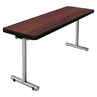 Nomad by Palmer Hamilton aero Mobile Folding Table, 72 x 24 x 29, Walnut PHLAR2472W AR2472W
