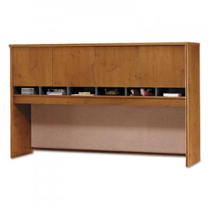 Bush Series C Collection 4 Door 72W Hutch, Box 2 of 2, Natural Cherry BSHWC72477A2 WC72477A2