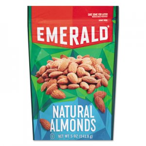 Emerald Natural Almonds, 5 oz Bag, 6/Carton DFD33364 33364