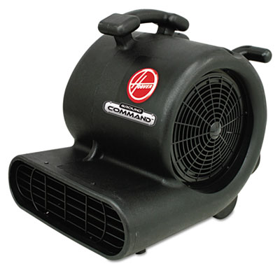 Hoover Commercial Ground Command Super Heavy-Duty Air Mover, 12 A, 30lb, Black HVRCH82010 CH82010