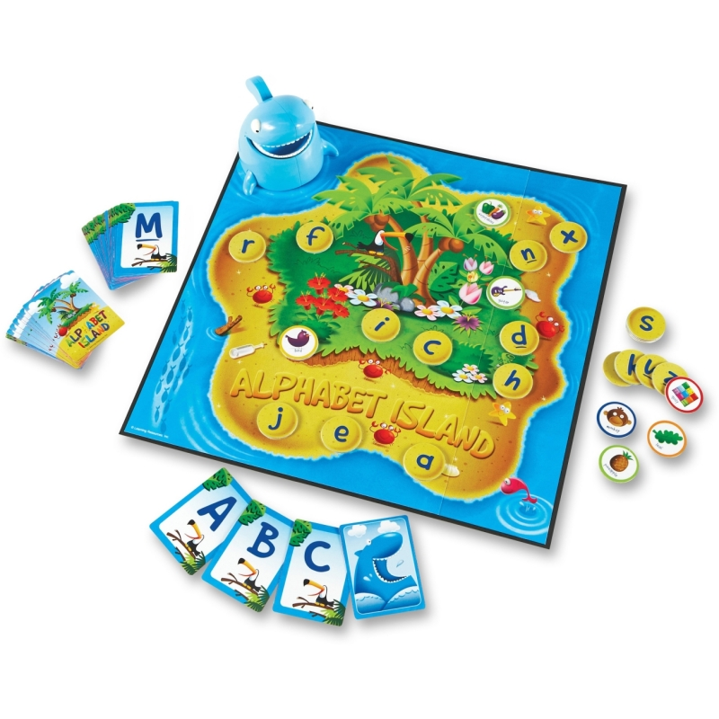 Learning Resources Alphabet Island Letter/Sounds Game 5022 LRN5022