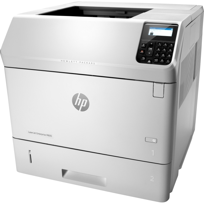 HP LaserJet Printer - Refurbished E6B70AR#BGJ M605dn
