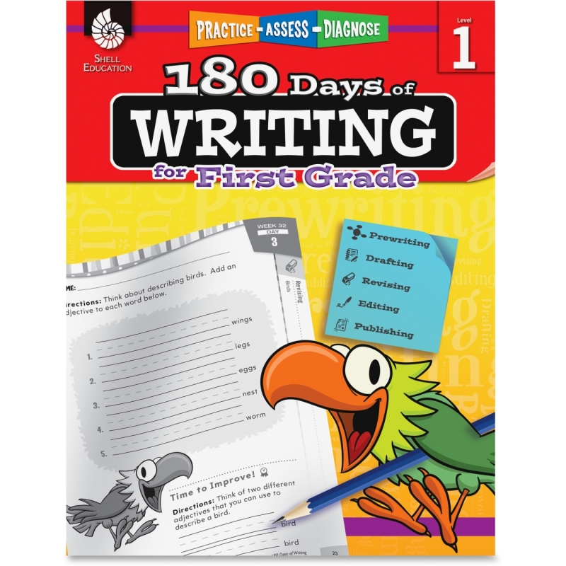 Shell 1st Grade 180 Days of Writing Book 51524 SHL51524