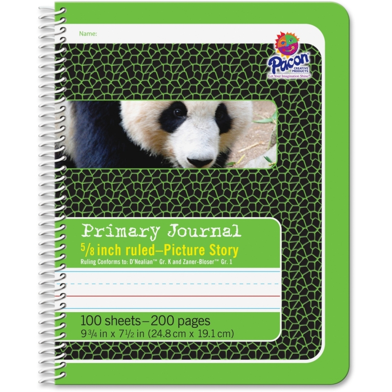 "Pacon 1/2"" Short Way Ruled Composition Book 2434 PAC2434"