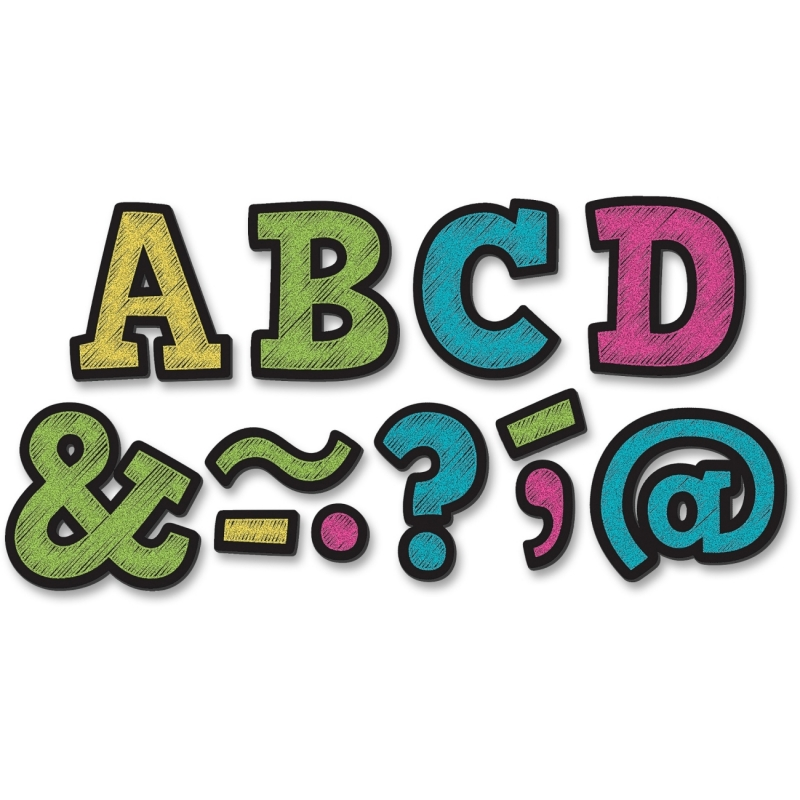 "Teacher Created Resources 2"" Bold Block Magnet Letters 77190 TCR77190"