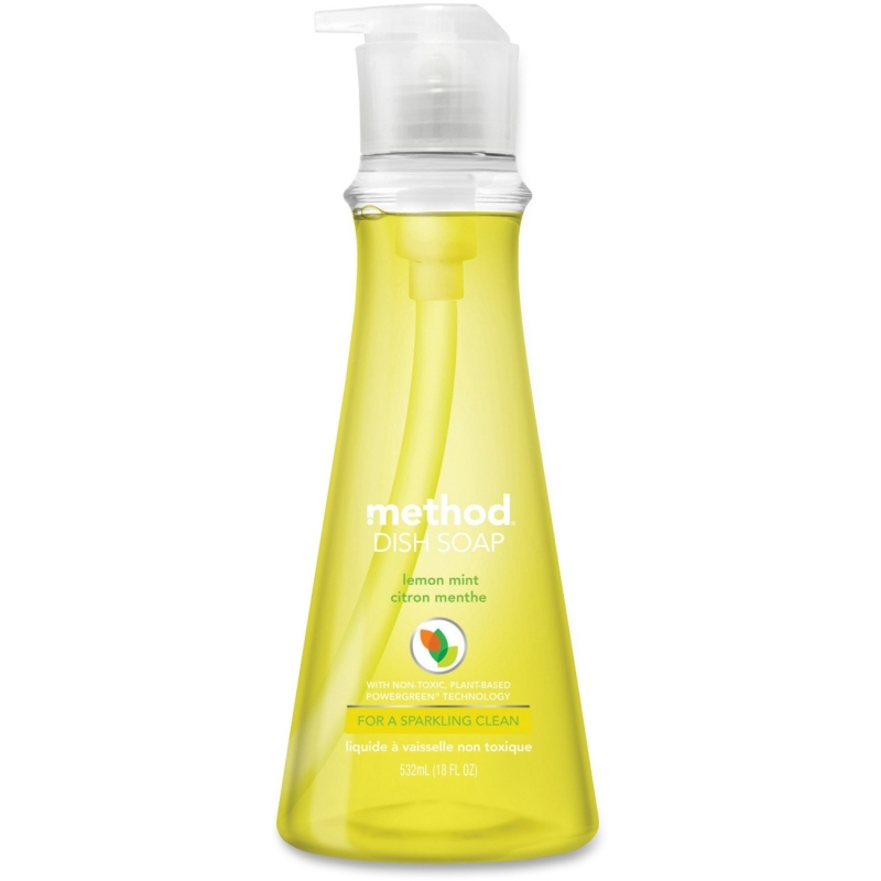 Method Lemon Mint Scented Dish Soap 01179 MTH01179