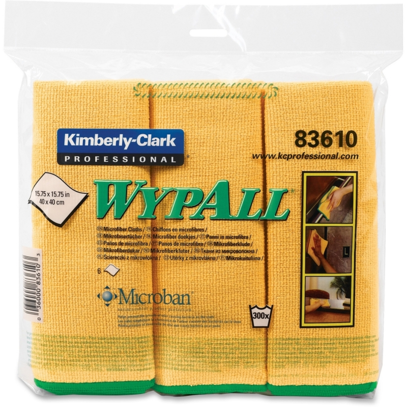 Wypall Microfiber Cloths 83610CT KCC83610CT