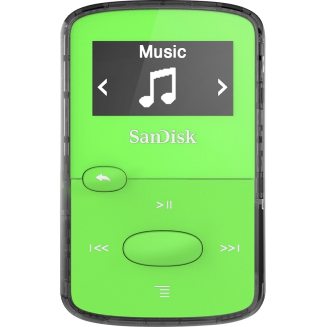 SanDisk Clip JAM 8GB Flash MP3 Player SDMX26-008G-G46G