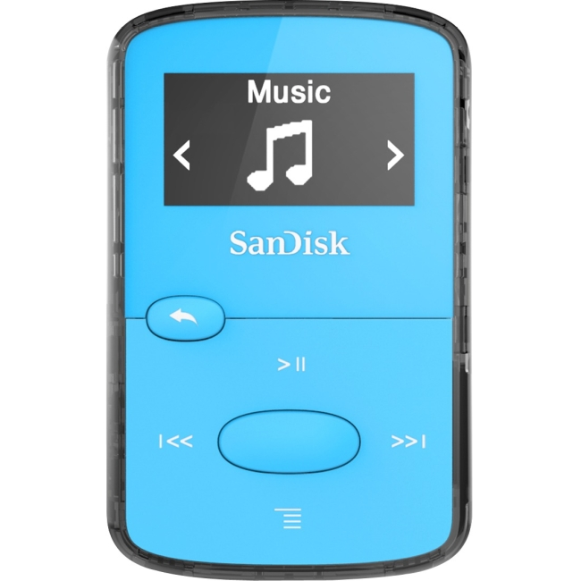 SanDisk Clip JAM 8GB Flash MP3 Player SDMX26-008G-G46B