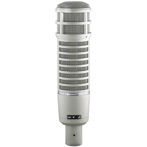 Electro-Voice Broadcast Microphone RE20
