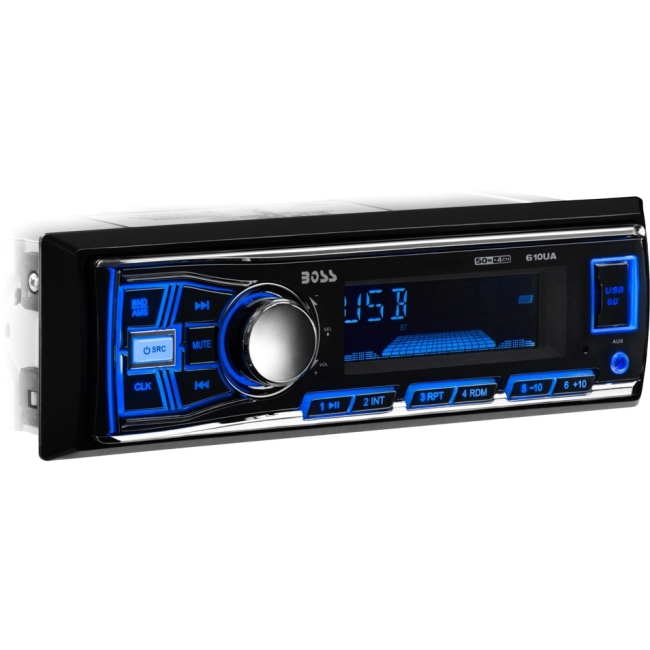 Boss Audio Single-DIN MECH-LESS 610UA