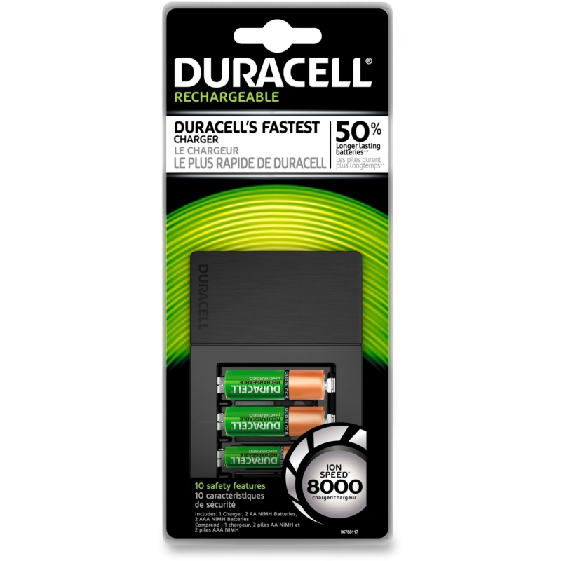 Duracell 15-Minute Charger CEF15NC DURCEF15NC