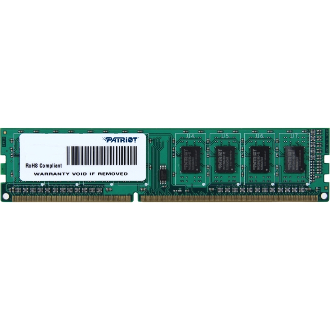 Patriot Memory Signature DDR3 2GB CL11 PC3-12800 (1600MHz) DIMM PSD32G160081