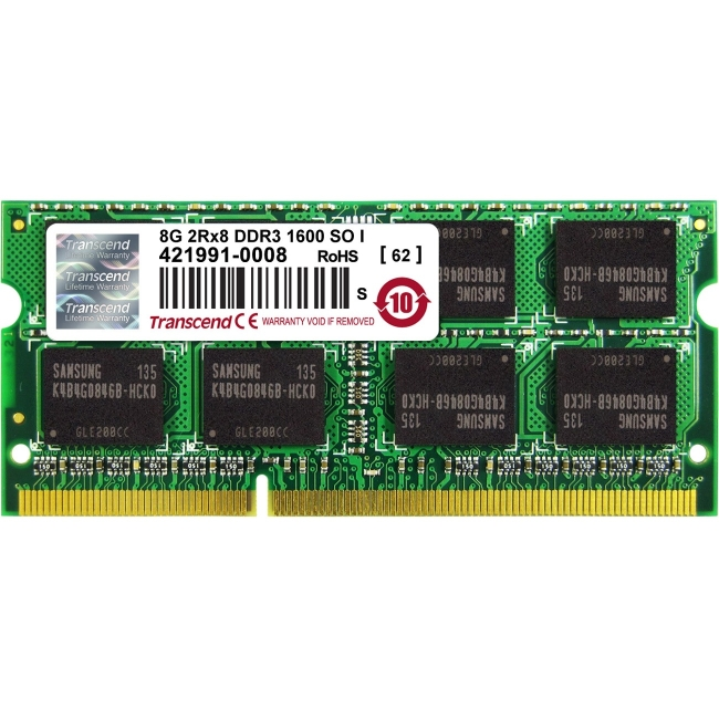 Transcend DDR3 SO-DIMM TS1GSK64V6H-I