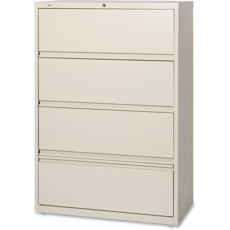 Lorell Receding Lateral File with Roll Out Shelves 43510 LLR43510