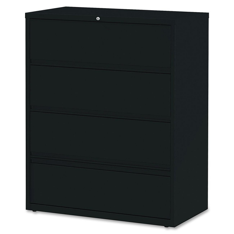 Lorell Receding Lateral File with Roll Out Shelves 43515 LLR43515
