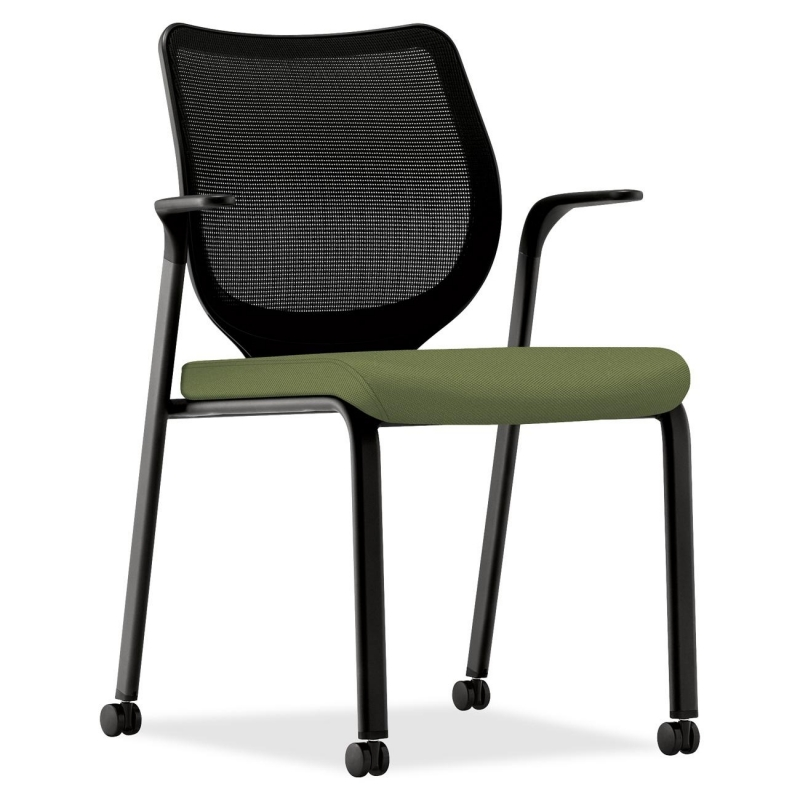 HON HON Nucleus HN6 Stacking Chair with Fixed Arm HN6FAIMNR74T