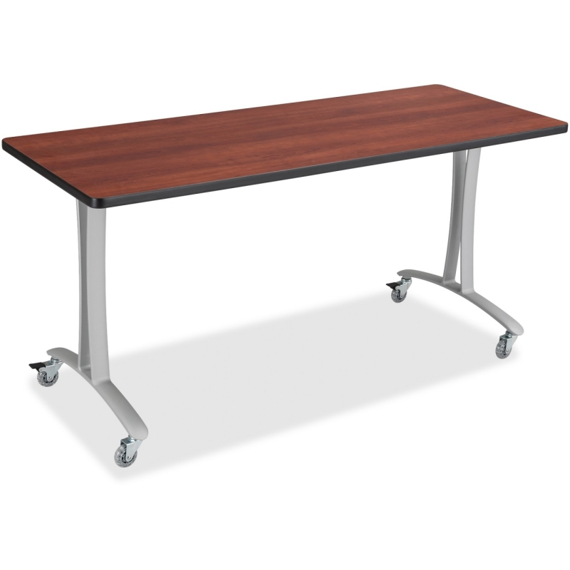 Safco Rumba Training Table T-leg Base w/Casters 2082SL SAF2082SL
