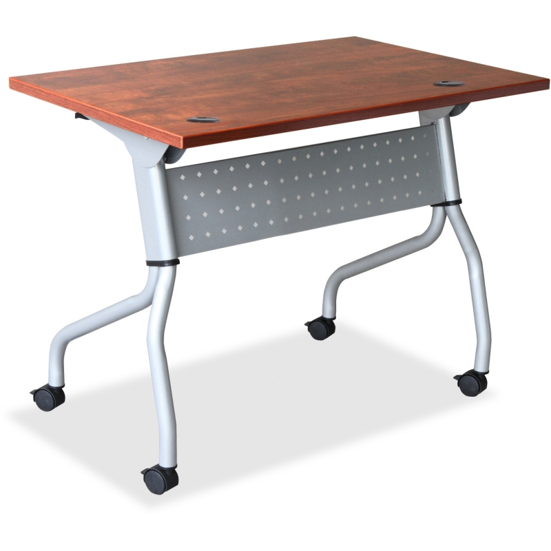 Lorell Cherry Flip Top Training Table 60719 LLR60719