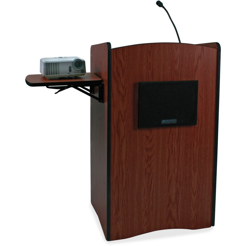 AmpliVox UHF Wireless Multimedia Computer Lectern SW3230MH APLSW3230 SW3230