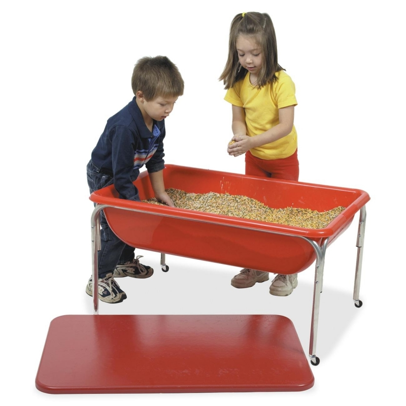 "Childrens Factory 24"" Large Sensory Table and Lid Set 113524 CFI113524"