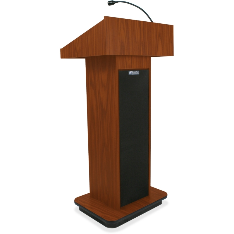AmpliVox Executive Sound Column Lectern S505 APLS505