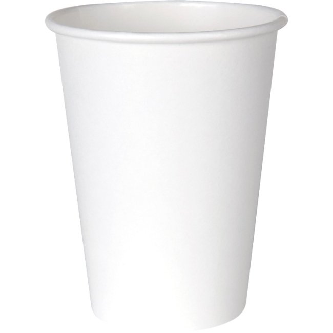Dixie White Paper Cup for Hot Beverages 2342W DXE2342W