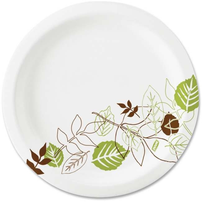 Dixie Dixie Pathways Design Soak Proof Paper Plates UX7PATH DXEUX7PATH