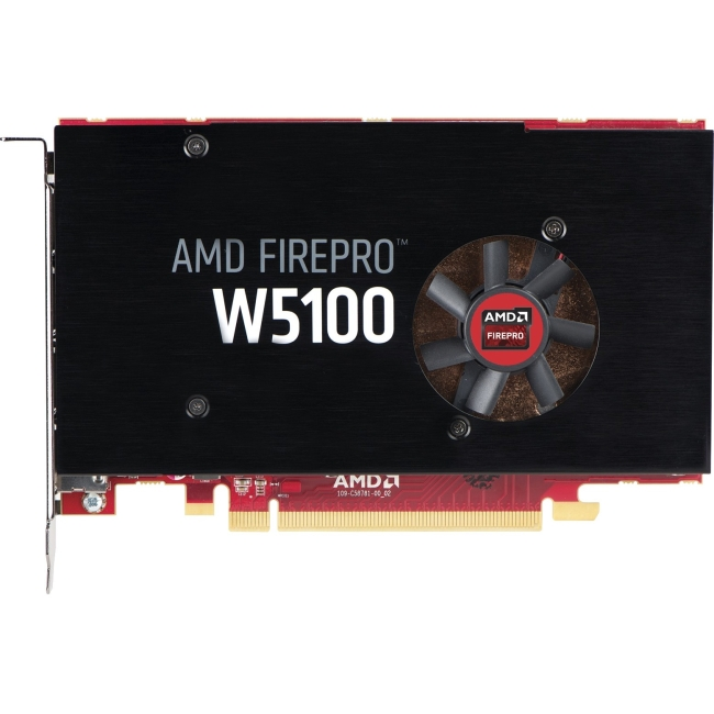 HP AMD FirePro W5100 4GB Graphics Card J3G92AA