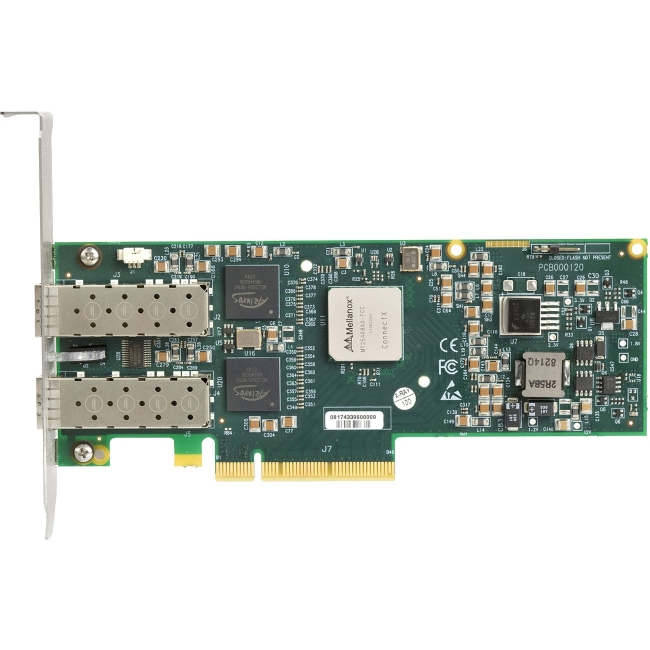 HP-IMSourcing 10 GbE PCI-e G2 Dual Port Network Interface Card 518001-001