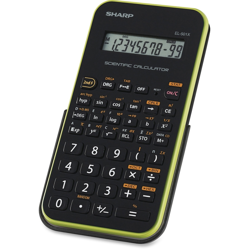 Sharp EL501X Scientific Calculator EL-501XBGR SHREL501XBGR