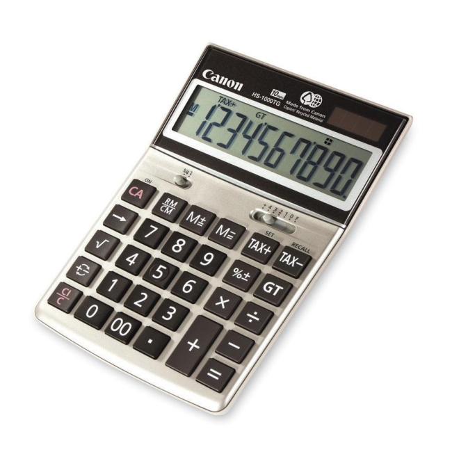 Canon HS1000TG Desktop Display Calculator HS-1000TG CNMHS1000TG
